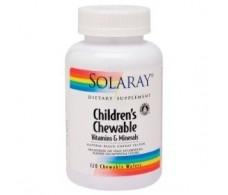 Solaray Children´s Chewable. Solaray 60 comprimidos masticables