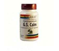 Solaray GS Calm Hydroxytryptophan 5-HTP 60 capsules. Solaray