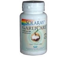 Solaray Garlicare 10.000mcg. 60 tablets. Solaray Garlic