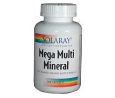 Solaray Mega Multi Mineral 100 caps. Solaray