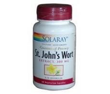 Solaray St. John's Wort - Hypericum. 60 capsules. Solaray