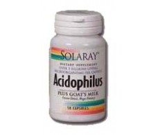 Solaray Acidophilus Plus 30 cápsulas. Solaray