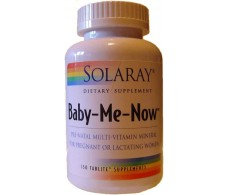 Solaray Baby Me Now. 150 tabletas. Solaray