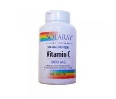 Solaray Vitamin C 1000mg. 100 tablets of delayed action.