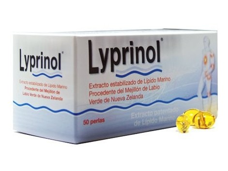 Lyprinol 50 capsules. Lipid Marino Green Lipped Mussel
