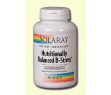 Solaray B Stress Nutritionally Balanced. 100 capsules.