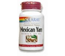Solaray Mexican Yam 60 capsules Solaray