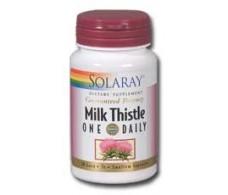 Solaray Cardo Mariano - Milk Thistle. 30 capsulas. Solaray