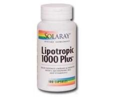 Solaray Lipotropic 1000 Plus. 100 capsules Solaray