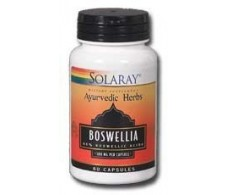 Solaray Boswelia 300mg. Ayurveda 60 capsulas. Solaray