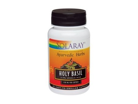 Holly Basil Solaray 450mg. Thai Basil. 60 capsules