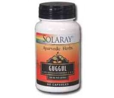 Solaray Guggul 500mg. 60 capsules. Solaray