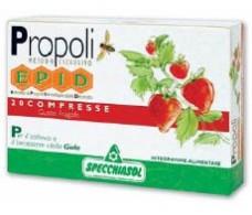 Strawberry Flavour Epid. 20 tablets. Specchiasol