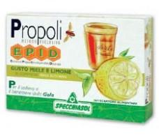Honey and Lemon flavor Epid. 20 tablets. Specchiasol