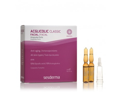 Sesderma Acglicolic Classic Ampollas Forte 5 und. 2ml