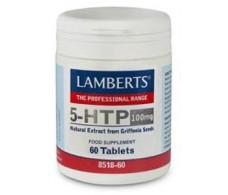 Lamberts 5-HTP 100mg. Triptofano 60 capsulas. Lamberts