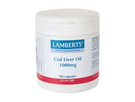 Cod Liver Oil 1000mg. 180 capsules. Lamberts