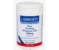Lamberts Aceite de Primula 500mg. 180 cápsulas.