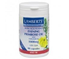 Lamberts Aceite de Prímula+Borraja 1.000mg. 90 capsulas
