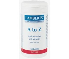 Lamberts A to Z Multi 60 comprimidos.