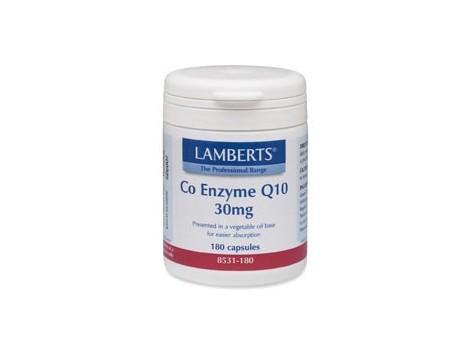Lamberts Co-Enzyme Q10 30mg. 60 capsules. Lamberts