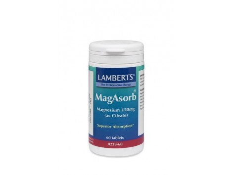 Lamberts Magasorb - Magnesium as Citrate. 60 tablets