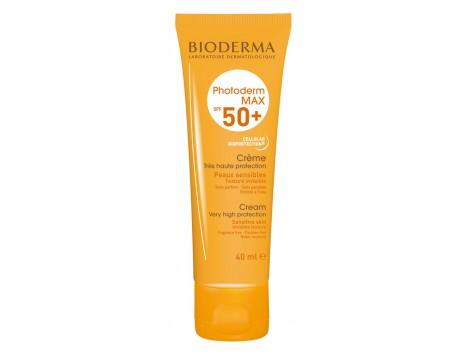 Bioderma Photoderm Max Cream SPF 50 + 40ml. Colorless