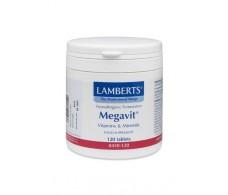 Lamberts Megavit - Complejo de vitaminas y minerales 120 comprim