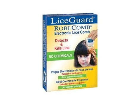 LiceGuard Robi Comb.  Comb electronic for lice