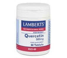 Lamberts Quercitina 500mg. 60 comprimidos. Lamberts