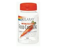 Solaray Food Carotene de Solaray 50 perlas Caroteno
