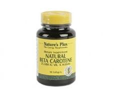 Nature´s Plus Natural Beta Carotene 90 perlas. Natures Plus
