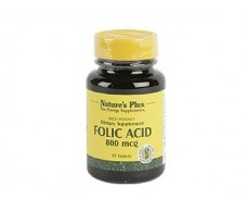 Nature´s Plus Folic Acid 90 tablets. Natures Plus