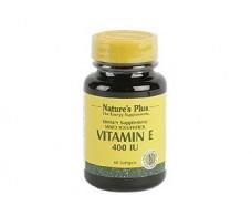 Nature´s Plus Vitamin E 400 UI  60 pearls. Natures Plus
