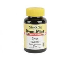 Nature's Plus Dyno Mins Hierro 90 comprimidos.