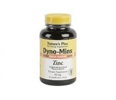 Nature's Plus Dyno Mins Zinc Minerales 60 comprimidos.