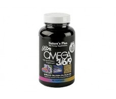 Nature´s Plus Ultra Omega 3 - 6 - 9 1200mg. 90 pearls. Nature´s