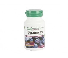 Nature´s Plus Bilberry 60 capsules. Nature's Plus