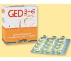 GED 3+6 Plus (Borraja + pescado + Vit. E) 60 capsulas