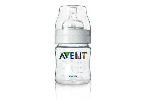 Avent Bottle 125 ml with newborn flow teat