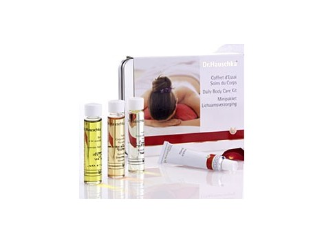 Dr Hauschka Body Travel (oils, gels, essences, creams).