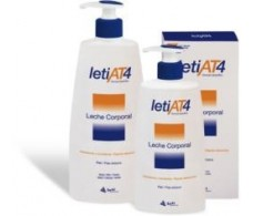 Leti AT4 Leche corporal 250ml.