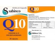 Sabinco Q10 30mg. 30 capsules. Sabinco