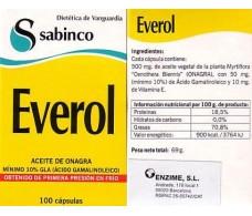 Sabinco Everol 100 capsulas. Sabinco