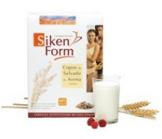 Siken Form copos de salvado de avena 250gr.