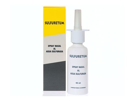 Averroes Sulfuretum Nasal Spray 50ml sulfur water. Averroes