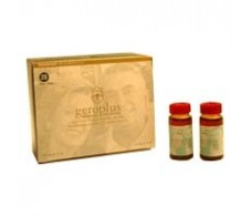 Bioserum Geroplus con jalea real. 20 viales. Bioserum