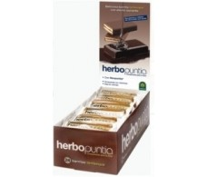 Herbora Bars herbopuntia of yoghourt. 24 units