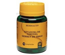 Brewer's yeast and wheat germ 120 tablets. Herbora
