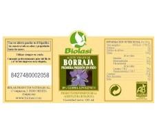 Biolasi aceite de borraja 100ml. 1ª presión en frío BIO.